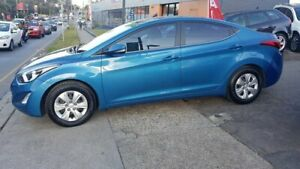 2015 Hyundai Elantra MD3 Active Blue 6 Speed Sports Automatic Sedan Lidcombe Auburn Area Preview