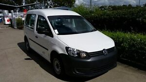 2011 Volkswagen Caddy 2KN MY11 TDI250 Maxi DSG White 7 Speed Sports Automatic Dual Clutch Van Acacia Ridge Brisbane South West Preview