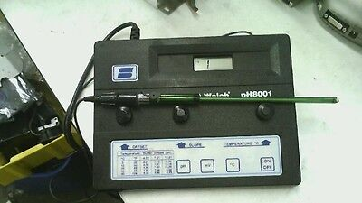 Sargent Welch Ph8001 Bench Ph Meter 8519sw With Electrode