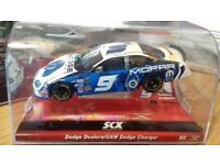 SCX Digital Slot Car Dodge Dealers / Dodge Charger Mopar Rare