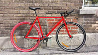Fixie single speed Minelli cromoly neuf.