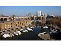 St Katherine Dock. Great location Tower Hill. 2 Bath, Balcony. E1. All Bils Included.