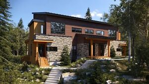 334 900$ - Condos neufs - 3 chambres - SKI-IN/SKI-OUT - Bromont