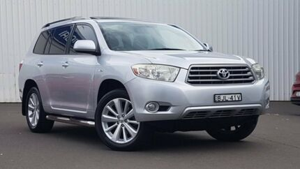 2009 Toyota Kluger GSU40R KX-S 2WD Silver 5 Speed Sports Automatic Wagon