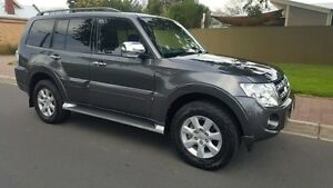 2012 Mitsubishi Pajero NW MY12 Platinum Edition Grey 5 Speed Auto Sports Mode Wagon Medindie Walkerville Area Preview
