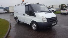 Ford transit van , ex bt from new fsh , long mot , 2 keys