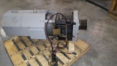 Haas Sl-40 Big Bore Spindle Motor And Gear Box