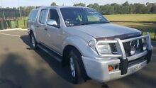 2006 Nissan Navara D40 ST-X Silver 6 Speed Manual Dual Cab Pick-up Condell Park Bankstown Area Preview