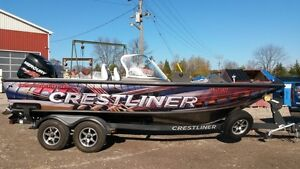 2014 Crestliner Raptor 2050 - Loaded!