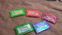 fire red leaf green emerald sapphire ruby pokemon jeux gba!