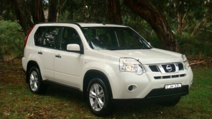 2012 Nissan X-Trail T31 Series V ST 2WD White 6 Speed Manual Wagon Oaks Estate Queanbeyan Area Preview