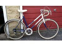 "Raleigh girls 10 speed racing bike 19"" frame"