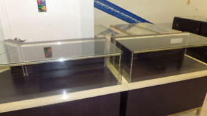 Custom Made 2 pc Display Cabinets