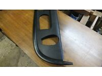 Audi S3 Coolant and windscreen washer bottle cover with bracket