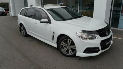 2014 Holden Commodore VF SV6 White 6 Speed Automatic Sportswagon Port Macquarie Port Macquarie City Preview