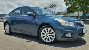 2011 Holden Cruze JG CDX Blue 6 Speed Sports Automatic Sedan Bungalow Cairns City Preview