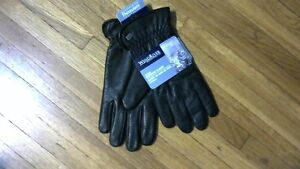 Mens Deerskin Leather Dress/Driving Gloves with Thinsulate[new]