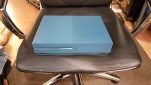Xbox One S deep blue special edition w/ 4 games $300