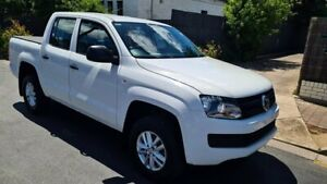 2015 Volkswagen Amarok 2H MY15 TDI420 (4x2) White 8 Speed Automatic Dual Cab Utility Prospect Prospect Area Preview