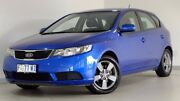 2011 Kia Cerato TD MY11 SI Blue 6 Speed Manual Hatchback Hobart CBD Hobart City Preview