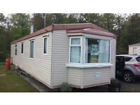 Static caravan holiday home in Northumberland