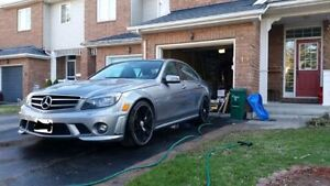 2010 Mercedes-Benz c63 AMG eurocharged 540bhp