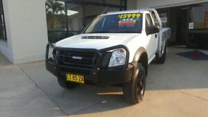 2011 Isuzu D-MAX MY11 EX White 5 Speed Manual Cab Chassis Macksville Nambucca Area Preview