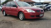 2004 Mitsubishi Lancer CH MY05 ES Red 5 Speed Manual Sedan Blair Athol Port Adelaide Area Preview