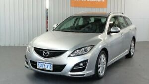 2012 Mazda 6 GH1052 MY12 Touring Silver 5 Speed Sports Automatic Wagon Rockingham Rockingham Area Preview