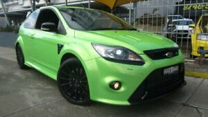 2010 Ford Focus LV RS Green 6 Speed Manual Hatchback Homebush Strathfield Area Preview