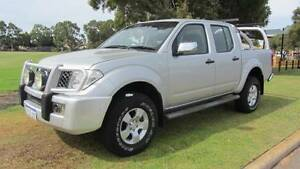 2007 Nissan Navara ST-X TURBO DIESEL 4X4 Ute Welshpool Canning Area Preview