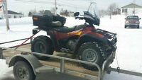 hey i fix  and do oil changes on atv's  motocross   campbellton