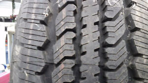 LT 245/70 R 17 SUMMER TIRES FOR SELL