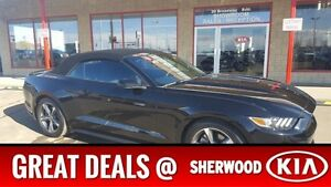 2016 Ford Mustang CONVERTIBLE Accident Free,  A/C,