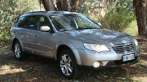 2009 Subaru Outback B4A MY09 D/Range AWD Silver 5 Speed Manual Wagon Oaks Estate Queanbeyan Area Preview
