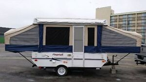 -*-2007 Flagstaff Forest River Tent Trailer Great Condition!