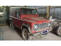 WANTED * An old used Land Rover 90 / 100 / Defender / Discovery * REQUIRED