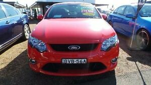 2009 Ford Falcon FG XR6 Red Sports Automatic Sedan Mount Druitt Blacktown Area Preview