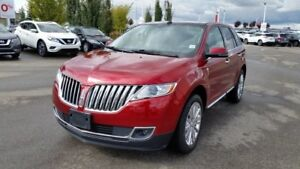 2015 Lincoln MKX 4DR AWD Accident Free,  Navigation (GPS),  Leat