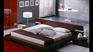 MODERN BEDROOM SET ---Must Sell *made in Italy* $799 OBO