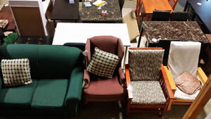 New/used furniture, sofa, firm top mattress and dining sets London Ontario image 3