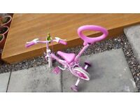 Girl First bike (unicorn)