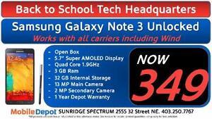 BACK TO SCHOOL - Samsung Galaxy Note 3 Unlocked