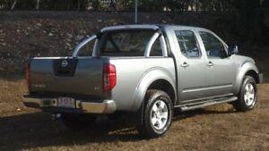 2011 Nissan Navara D40 ST Grey 6 Speed Manual Utility