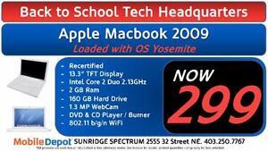 BACK TO SCHOOL - Apple Macbook 2009