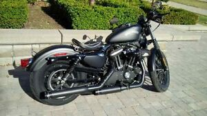 2014 Harley Davidson Sportster Iron 883 with dealer add-ons