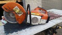 STIHL QUICK CUT OFF SAW REBUILT+ WATER KIT - 30 DAY WARRANTY