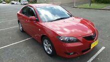 2006 Mazda 3 BK Maxx Velocity Red 4 Speed Auto Activematic Sedan Granville Parramatta Area Preview