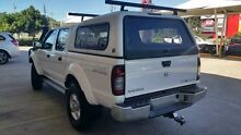 2012 Nissan Navara D22 S5 ST-R White 5 Speed Manual Utility Buderim Maroochydore Area Preview