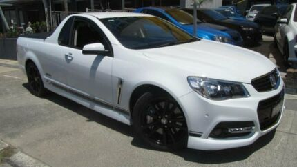 2013 Holden Ute VF SS-V Redline White 6 Speed Manual Utility Homebush Strathfield Area Preview